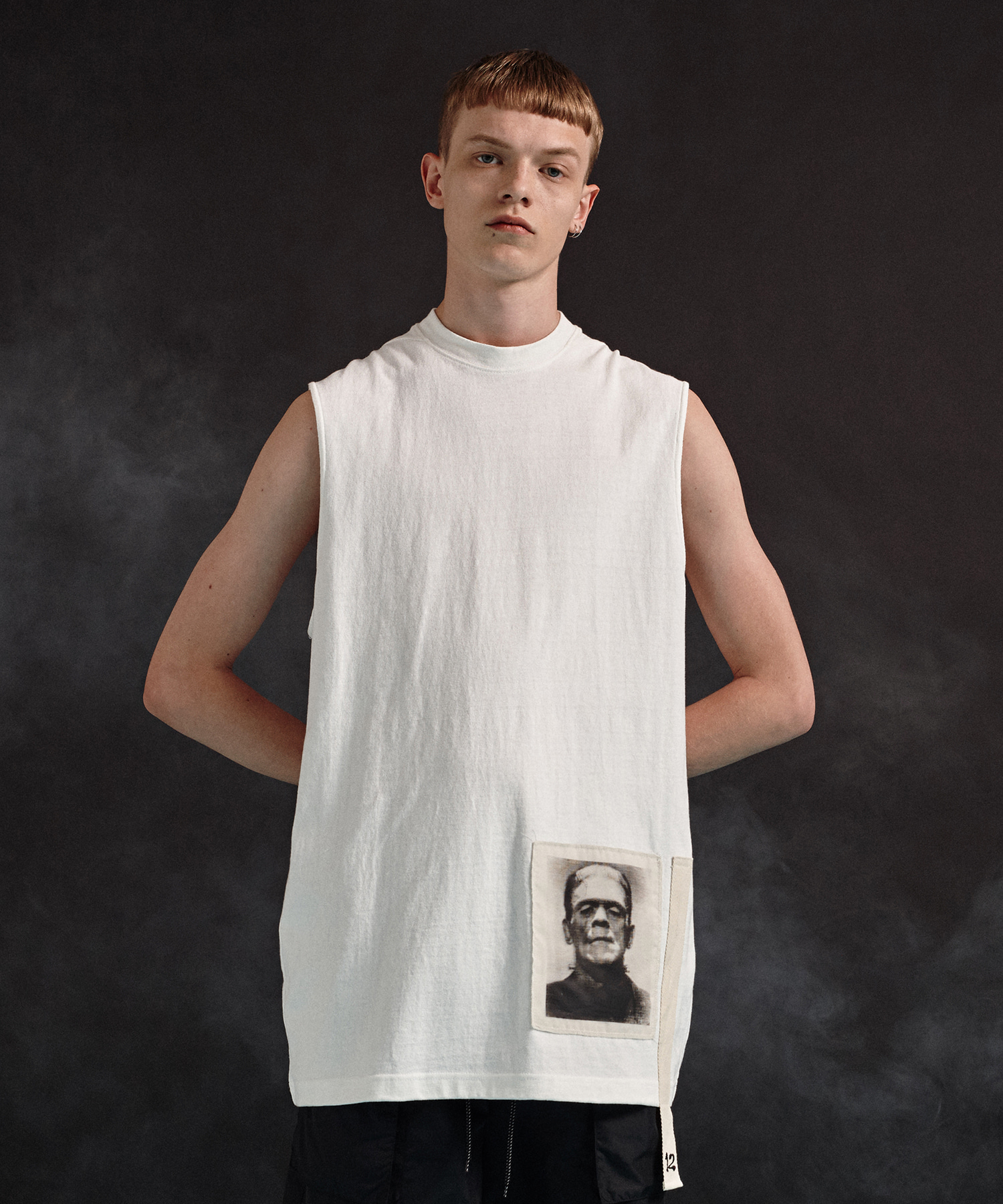 [19SS][40% 세일] Frankenstein Sleeveless T-Shirts (WH)