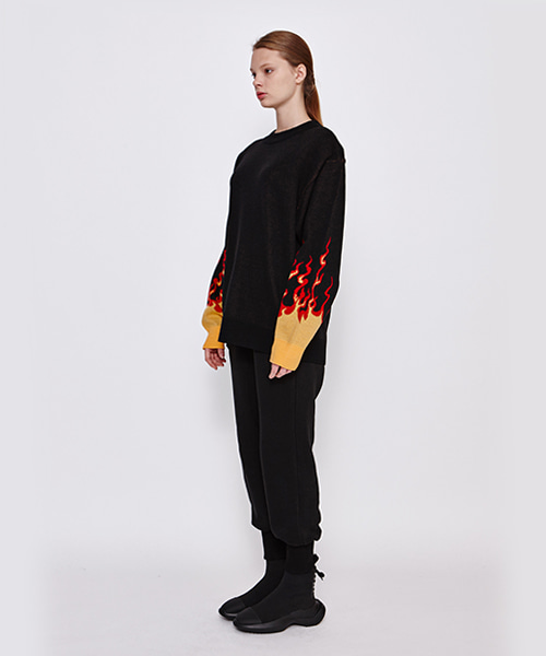 [19FW][50% 세일] Fire Oversize Knit (RE)