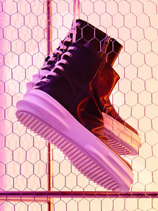 [신학기EVENT 40% 세일]Back Lace Up Leather High-Top (IV)