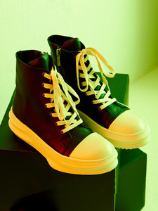[신학기EVENT 40% 세일]Front Lace-Up Leather High Top (IV)