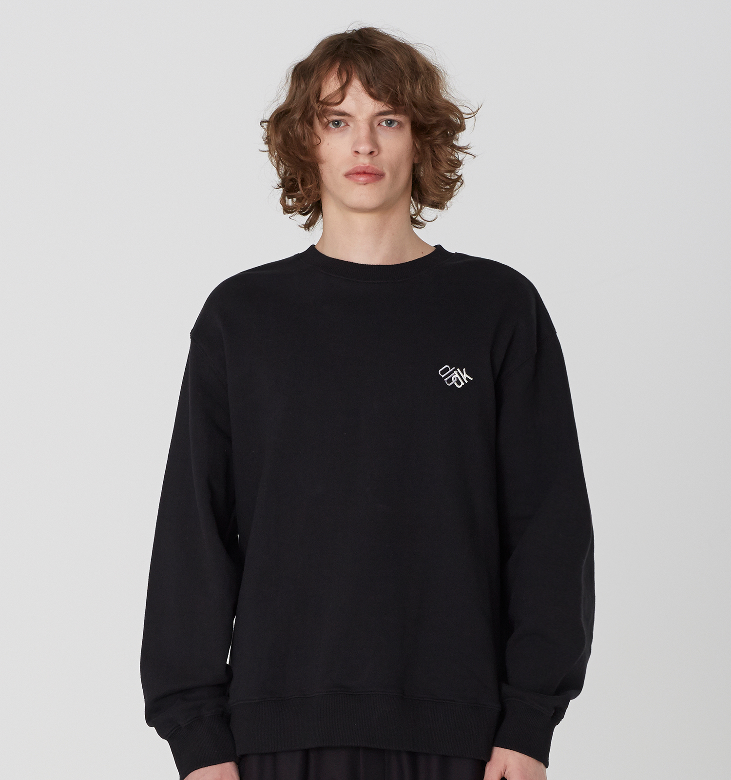 [19S/S] Back Layered Sweat Shirts (BK)