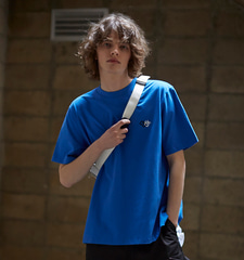 [19S/S] Back Open Layered T-Shirts (BL)