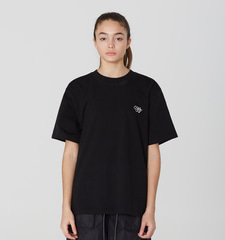 [19S/S] Back Open Layered T-Shirts (BK)