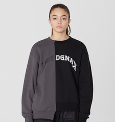 [19S/S] Arch Line Logo Sweat Shirts (BK)