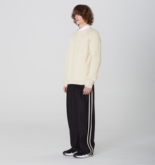 [19S/S] 2 Line Wide Pants (BK)