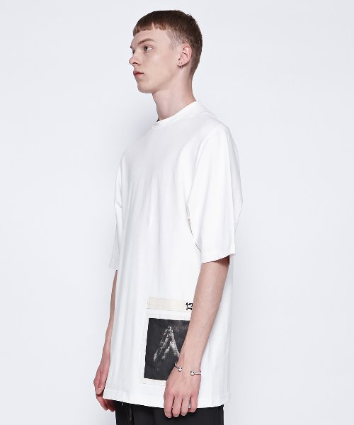 [DGNAK12][30% 세일] Pray Basic T-Shirts (WH)