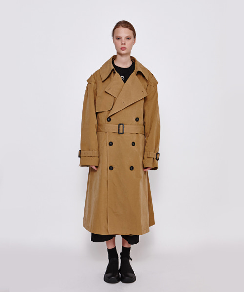 [19FW][40% 세일] Oversize Trench Coat (BE)
