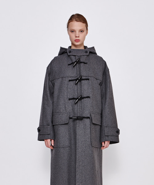 [19FW][40% 세일] Drop Shoulder Duffle Coat (GE)