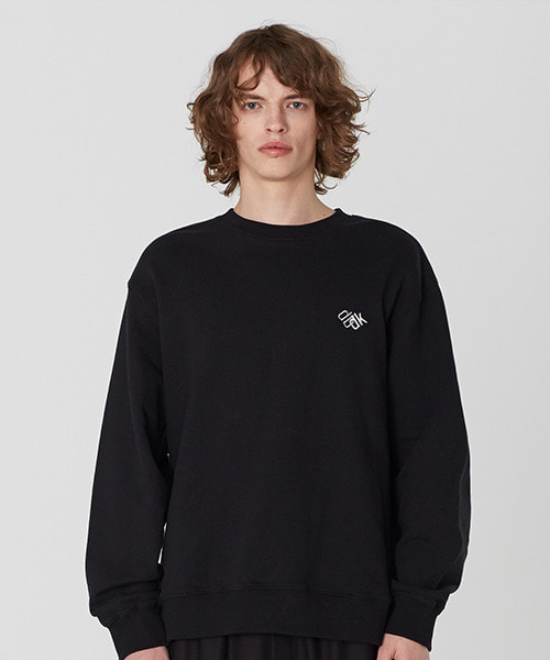 [19S/S][50% 세일] Back Layered Sweat Shirts (BK)