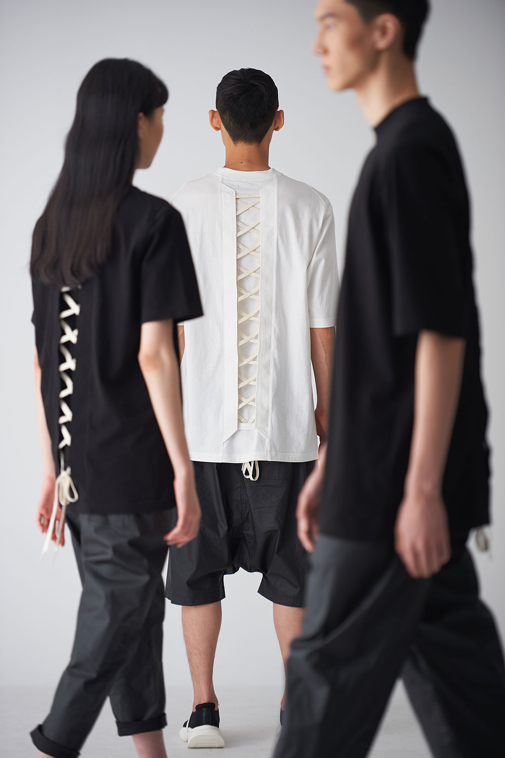 [PRE-ORDER 30%] Back Lace-up T-Shirts 2020 ver